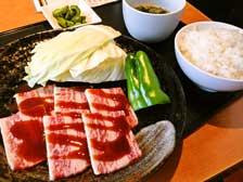 大分市上宗方にオープンした焼肉屋さん「香火山」でカルビ焼肉定食を食べてきた!
