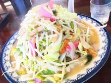 山盛り野菜で麺が見えない!「井手ちゃんぽん 大分わさだ店」の『野菜大盛りちゃんぽん』を食べてきた!