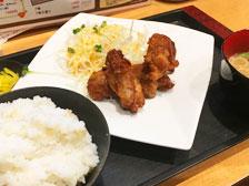 からあげ定食がなんと400円!竹町の「kakurega-隠れ家」という居酒屋さんのメニューが激安でスゴイ!