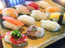 【大分】60分1285円の寿司食べ放題ランチを「毘沙門天 萩原店」で食べてきた!馬しゃぶ刺し握りもあるよ!