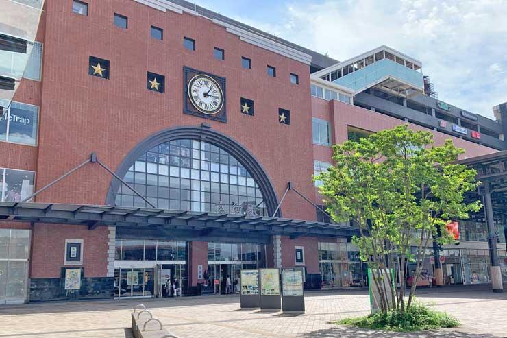 大分駅北口の画像