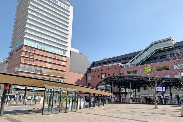 大分駅前広場の写真
