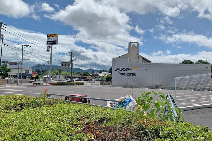 ワークマンプラス 大分挾間店の駐車場画像
