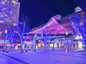 大分市中心部のイルミネーション「おおいた光のファンタジー2021」は11月12日〜2月14日まで開催されるみたい!
