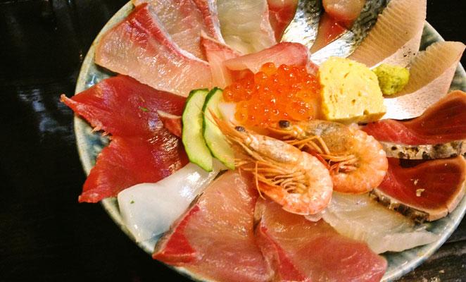 海鮮いづつの海鮮丼画像