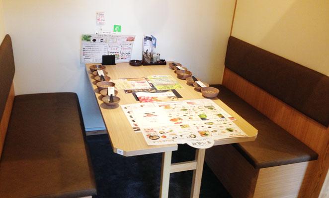 しゃぶしゃぶ温野菜の個室画像
