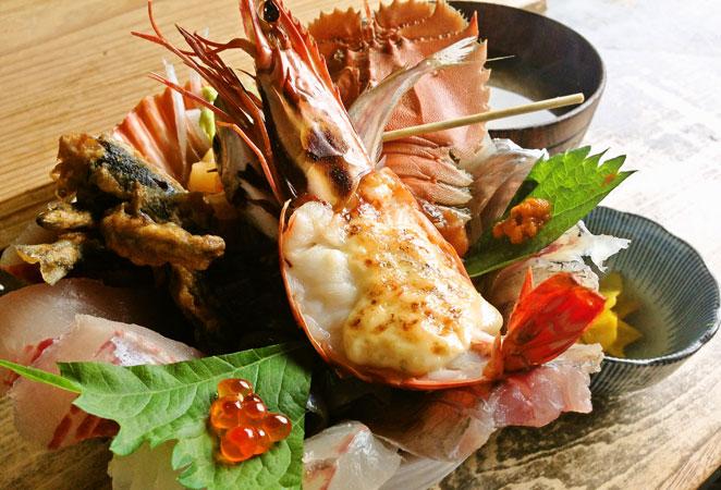 佐伯 塩湯 海鮮丼 画像