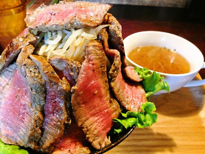 大盛り肉丼