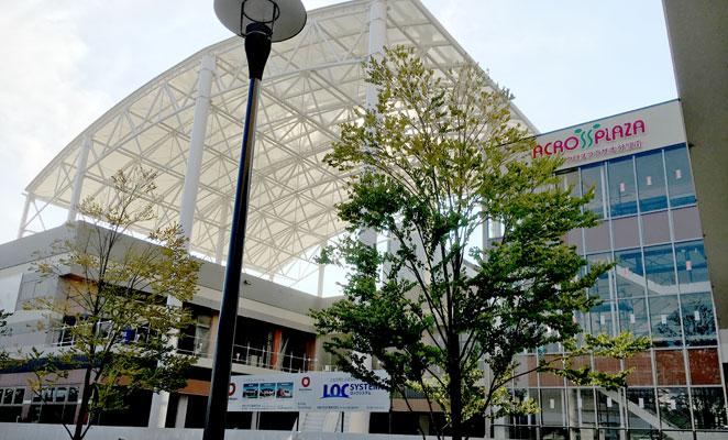 アクロスプラザ大分駅南 正面入口 画像