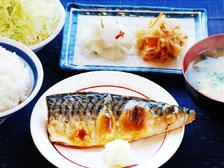 大分市 焼き魚定食 和食ランチ大盛