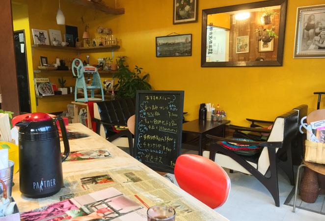 大分県別府市 スパイス食堂クーポノス 店内画像