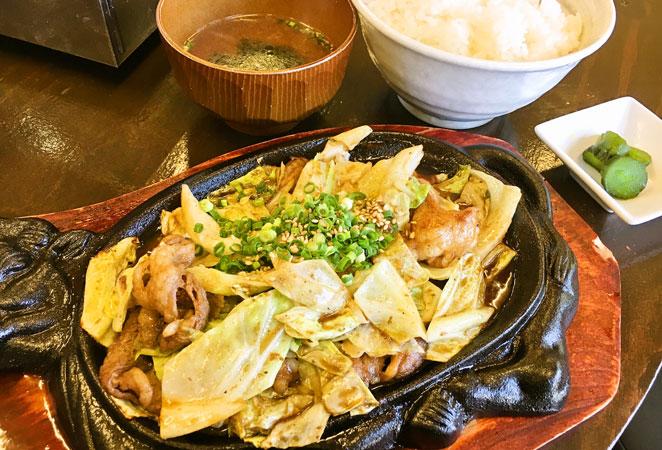 大分市賀来焼肉セブンのランチ画像