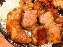 豚の鉄板ステーキ 画像