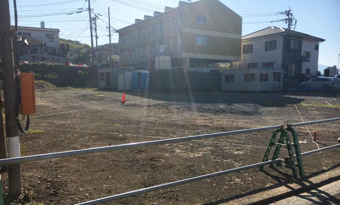 パレスト上野丘 建設予定地 画像