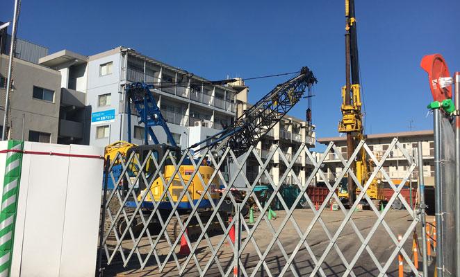サーパス上野町レジデンス 建設予定地 画像