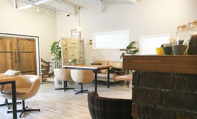 Rike cafe. お店の中 画像