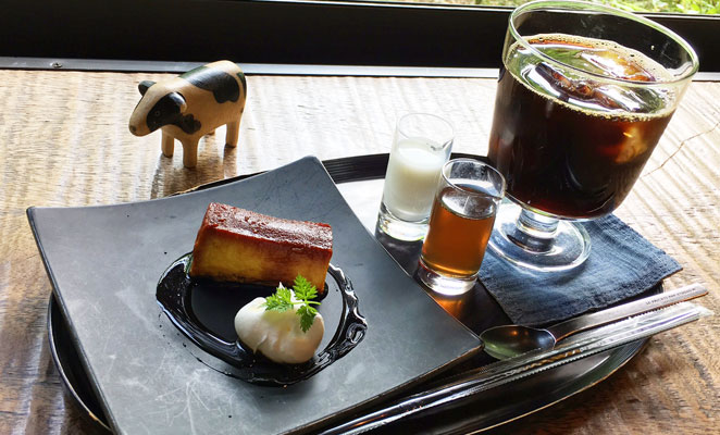 大分県別府市 カフェ和蔵 デザート画像