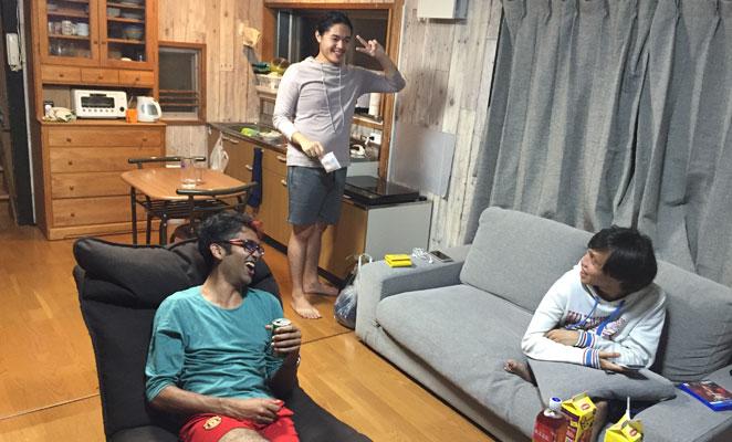 別府の英語シェアハウスの生活画像