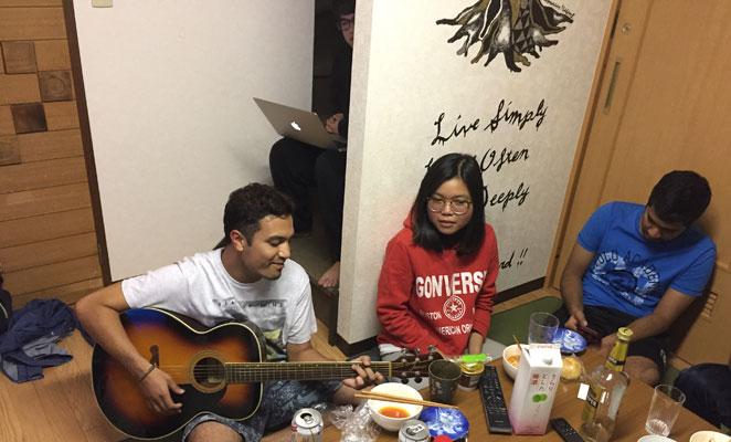 留学生とのシェアハウス生活の画像