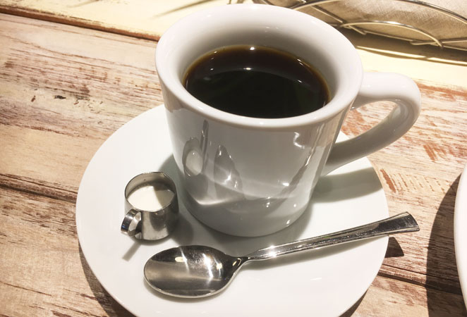 コナズ珈琲のコーヒーの量