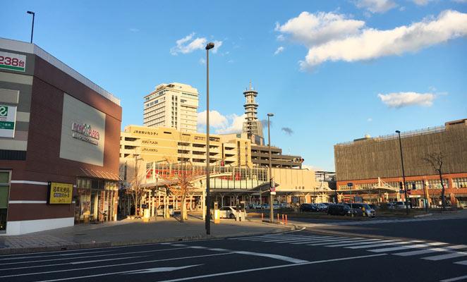 大分駅南口前広場の画像