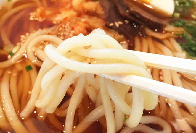 こげつの冷麺写真