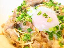 温玉豚丼の画像