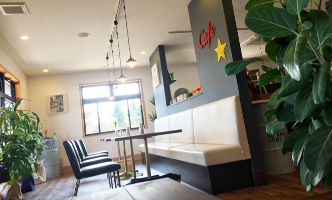 肉カフェパブロの店内写真