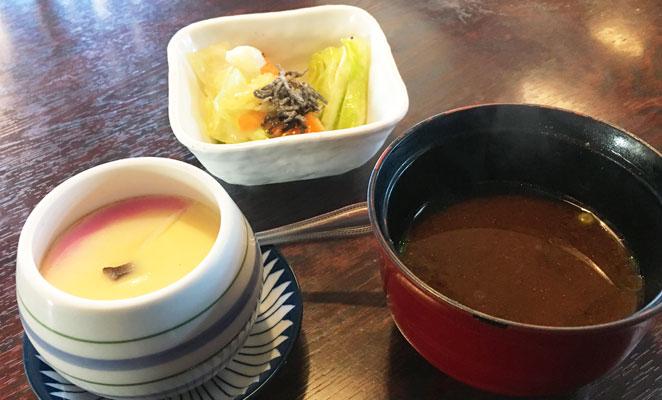 茶碗蒸しセットの画像