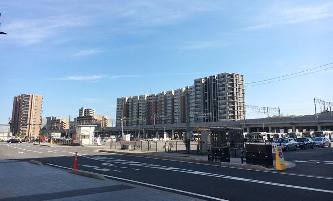 大分市要町高速バス乗り場の画像