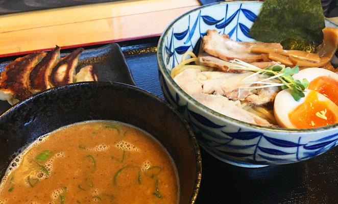 大分市まる中のつけ麺画像