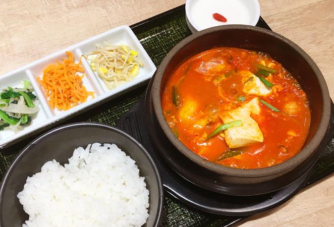 東京純豆腐のランチ画像