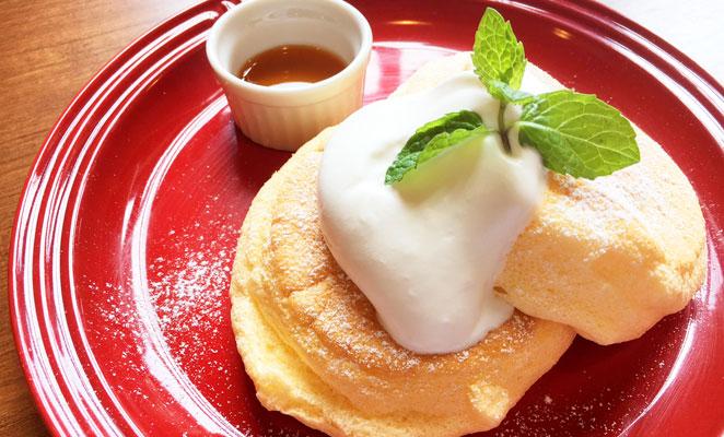 並木街珈琲のパンケーキ画像