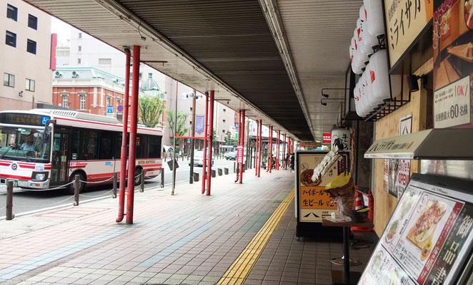 大分市赤レンガ通りの画像