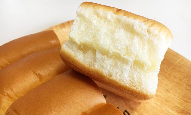 みどり牛乳サンドの断面画像