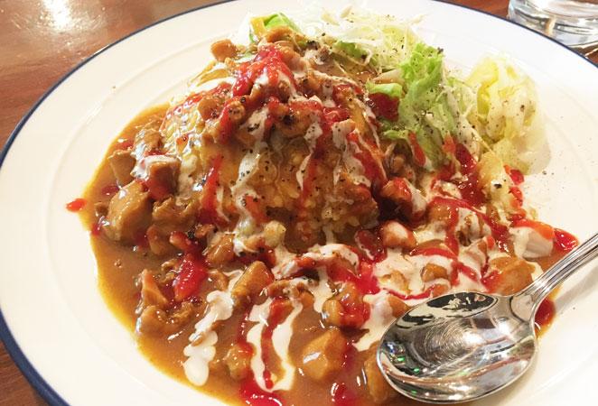Kitchen MIYAKO1-23のチキンオーバーライス