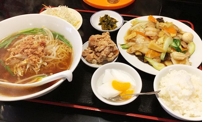 台湾料理福源のランチ画像