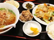 台湾料理福源の定食画像