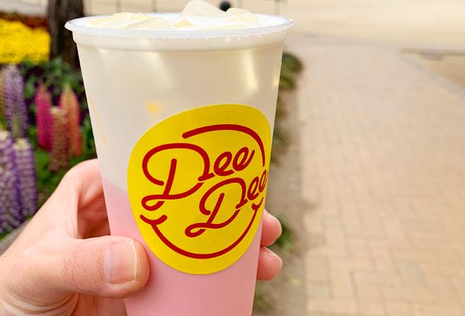 Dee Dee 大分中央町店のチーズティー