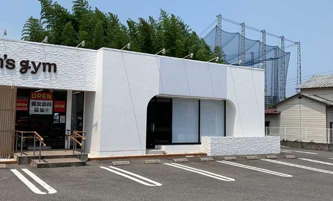 銀座に志かわ大分店のオープン予定地