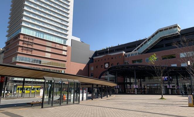 大分駅北口前広場